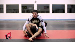 Brian Ortega Triangle postured opponent